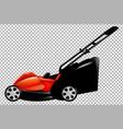 lawnmower vector image
