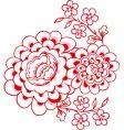 magnolias vector image vector image