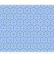 Seamless hexagons texture vector image