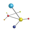 Molecule vector image