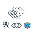 Abstract creative design elements collection vector image