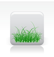 grass icon vector image vector image