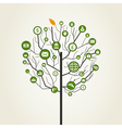Business a tree2 vector image