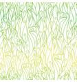 green gradient abstract scrolls swirls vector image