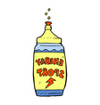 comic cartoon energy drink vector image