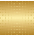 gold seamless geometric pattern vector image