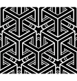 Seamless optical ornamental pattern with vector image
