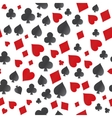 seamless pattern symbol cards vector image