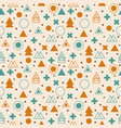 Ethnic geometric seamless pattern tribal vector image