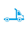 town truck icon vector image