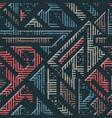 urban geometric striped pattern vector image