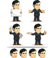 Businessman or Company Executive Customizable 8 vector image
