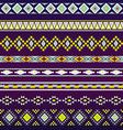 Seamless pattern for tribal design Ethnic motif 3 vector image
