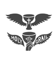 Holy grail vector image