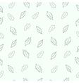 Pattern leaf vector image