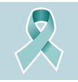 Prostate Cancer symbol in blue vector image
