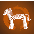 Chinese New Year of the Horse vector image