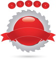 red circle 03 resize vector image