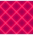 Seamless background with rhombus pink vector image vector image