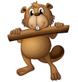 A beaver vector image vector image