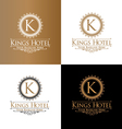 Kings Hotel vector image
