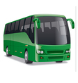 comfortable city bus vector image vector image