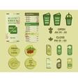 Organic Brand Identity vector image