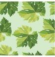 vine leaves seamless pattern vector image vector image