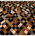 pixels perspective vector image vector image
