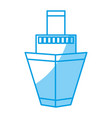 ship icon image vector image