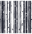 Abstract Hand Drawn Seamless Pattern with Black vector image vector image