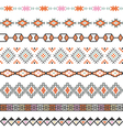 Seamless pattern for tribal design Ethnic motif vector image vector image