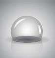 Empty Sphere vector image vector image