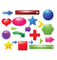 shapes and signs vector image vector image