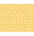Tile pattern with white polka dots on vector image