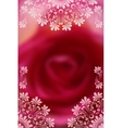 Phone wallpaper or cover design with lacy vector image