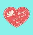 Valentine card xs vector image