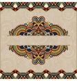 ornamental floral folkloric background for vector image
