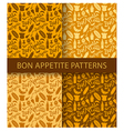 bon appetite pattern vector image