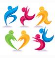Activity symbols collection vector image