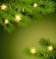pine tree vector image