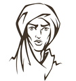 arabian man vector image