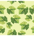 background from vine leaves seamless pattern vector image vector image