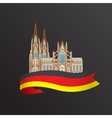 World famous Cologne cathedral Greatest Landmarks vector image