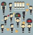 umpire football vector image