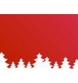 creative of merry christmas vector image