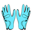 golf glove icon icon cartoon vector image