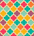 quatrefoil moroccan pattern vector image