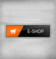 E-Shop Button vector image