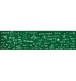 green school chalkboard vector image
